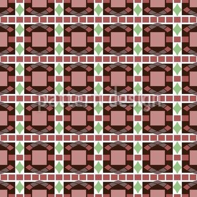 Art Deco Mosaik Vektor Muster