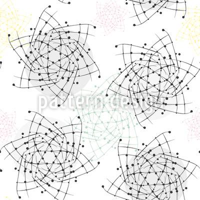 Atom Swirl Design Pattern