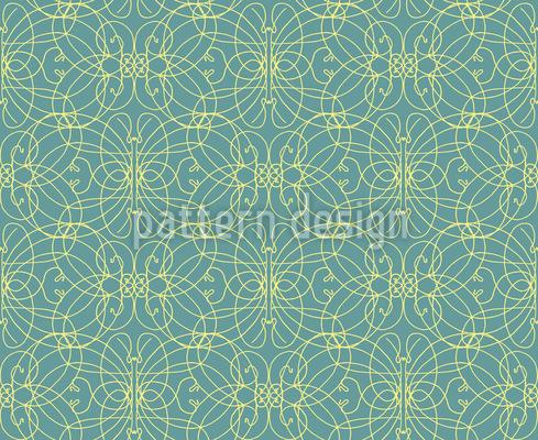 Genteel Spirals Repeat Pattern