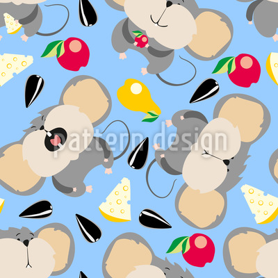 Hungry Mice Repeat Pattern