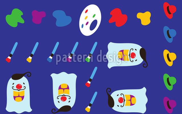 Der Verrückte Maler Musterdesign