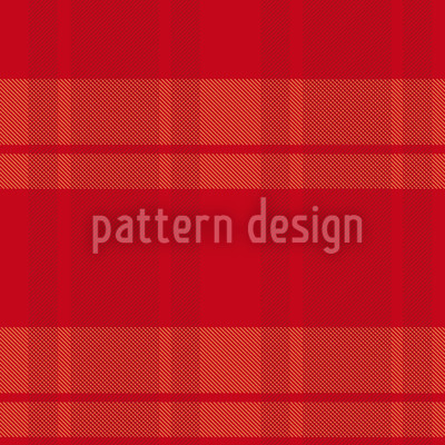 Tartan Red Vector Pattern