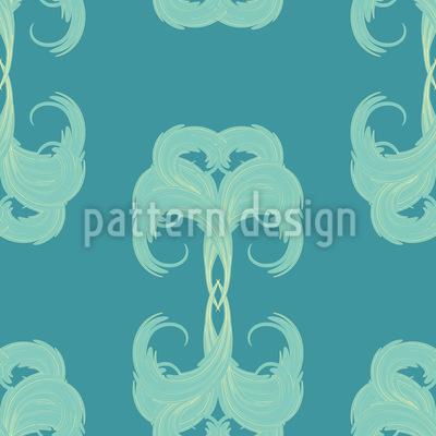 Beschwingte Schönheit Muster Design