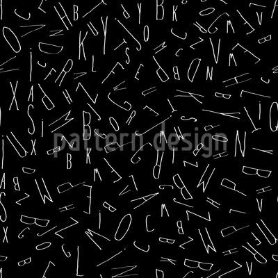 Tumbling Letters Vector Design