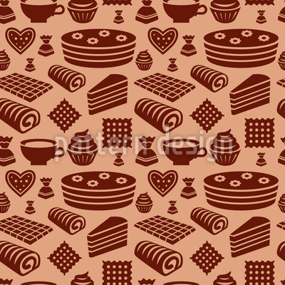 Konfekt Muster Design