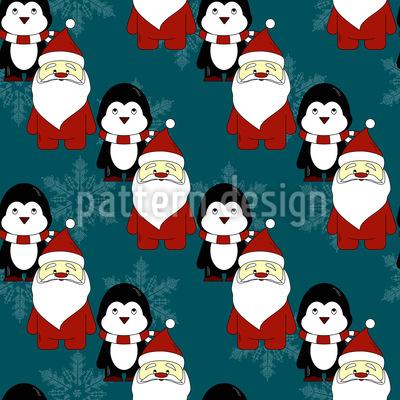 Santas Helferlein Musterdesign