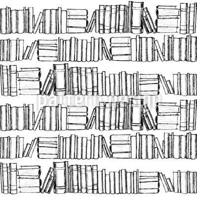Old Books Vector Pattern