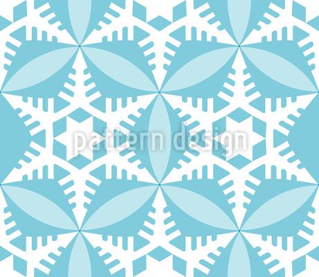 Kristallklarer Scherenschnitt Muster Design