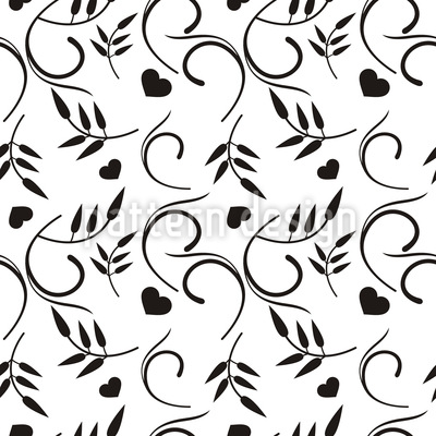 A Heart For Nature Pattern Design