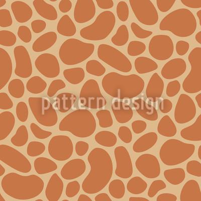 Giraffe Baby Repeating Pattern