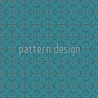 Retro Schleifen Vektor Muster