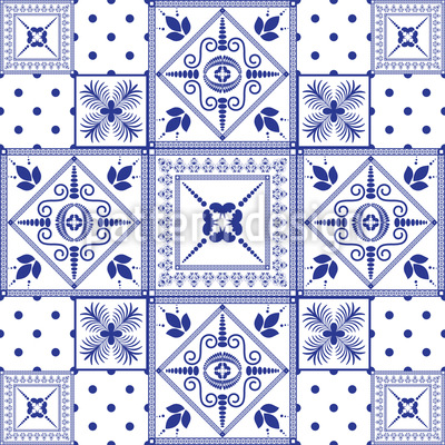 Classic Tiles Repeating Pattern