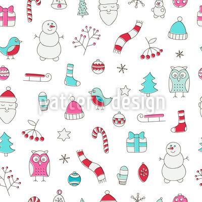 Weihnachtsträume Musterdesign