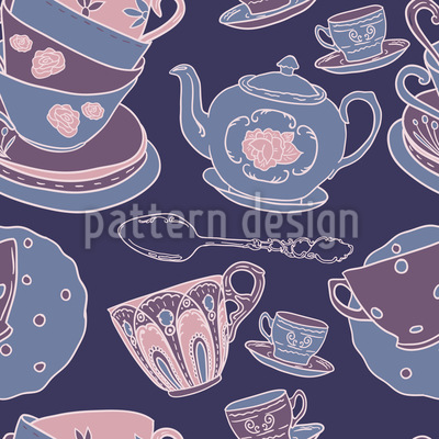 Pottery Seamless Pattern