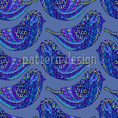 Doodle Bird Vector Design