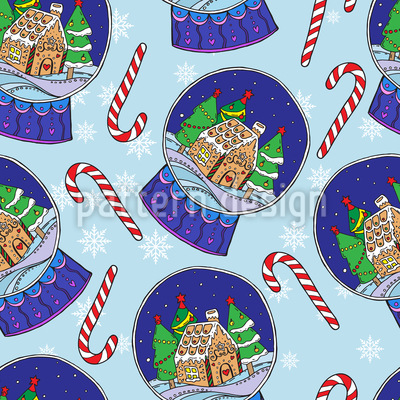 Christmas Snow Globes Vector Design