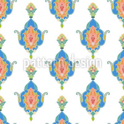 東洋の素晴らしさ シームレスなベクトルパターン設計