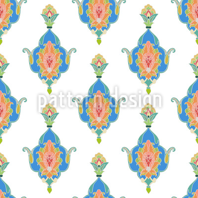 Oriental Splendor Seamless Pattern