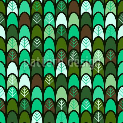 Baum Reihen Muster Design