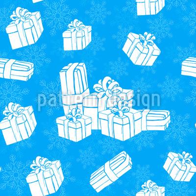 Winter Geschenke Rapportmuster