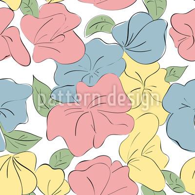 Les Fleurs Muster Design