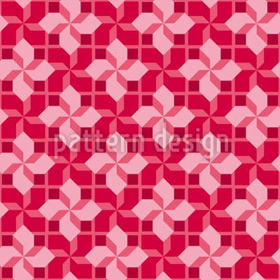 Four Tops Seamless Vector Pattern