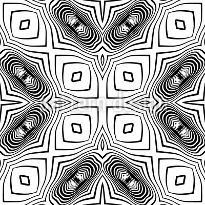 In The Kaleidoscope Repeating Pattern