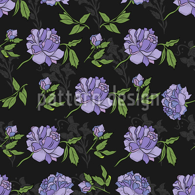 Night Peony Repeat