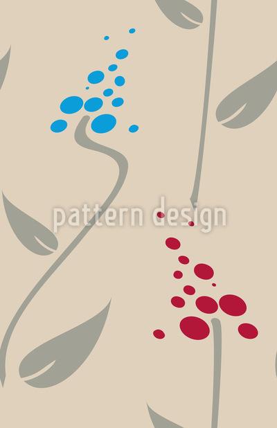Schatten Blumen Vektor Design
