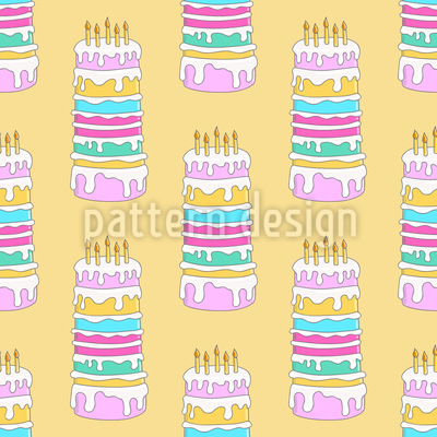 Birthday Cakes Vector Design