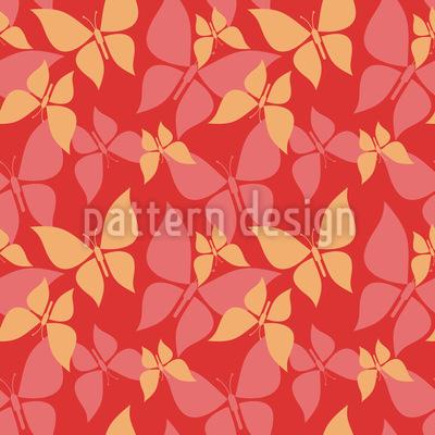 Schmetterlinge Überall Muster Design