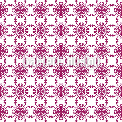 French Rebirth Seamless Pattern
