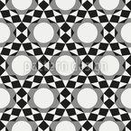 Circles become Stars Pattern Design