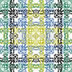 Textile Impression Pattern Design