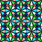 Janela de Flor Design de padrão vetorial sem costura
