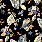 Vintage Floral Seamless Vector Pattern Design