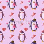 Pinguin Liebe Vektor Design