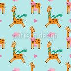 Niedliche Giraffe Rapport