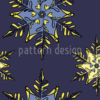 A Fairy Tale in Winter Repeat Pattern