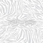 Zebra Monochrom Nahtloses Vektormuster
