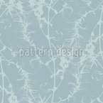 Faded Winter Wilderness Seamless Vector Pattern Design