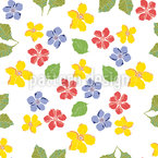 My Cottage Flowers Pattern Design