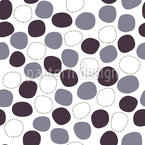 Gently Floating Dots Seamless Vector Pattern Design