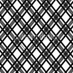 Glencheck Monochrom Nahtloses Vektormuster