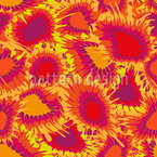 Florale Supernovas  Designmuster