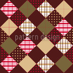Flic Flac Brown Seamless Vector Pattern Design
