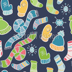 Stay Warm Seamless Pattern