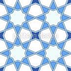 Stern Arabesk Nahtloses Muster