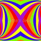 Der Regenbogen Twist Nahtloses Vektormuster