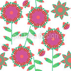 Small Flower Quilt Repeat Pattern